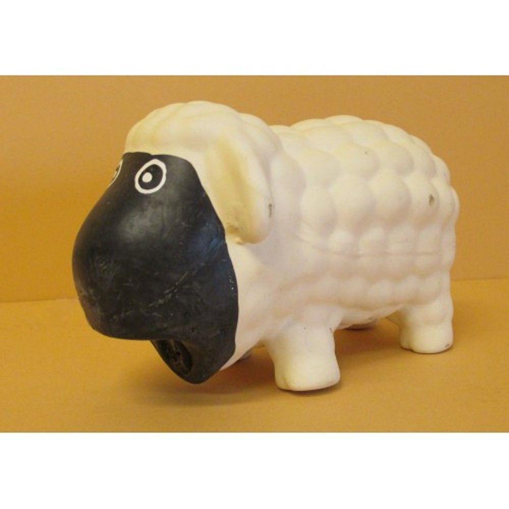 Latex hračka - ovečka se zvukem 17cm Ostatní