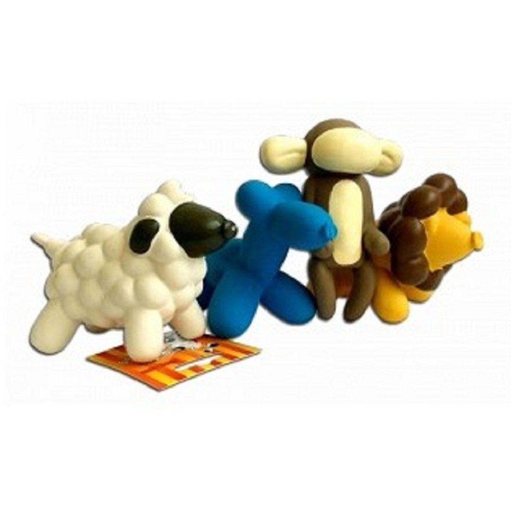 Latex mix hraček pes,opice,ovečka,lvíček Ostatní
