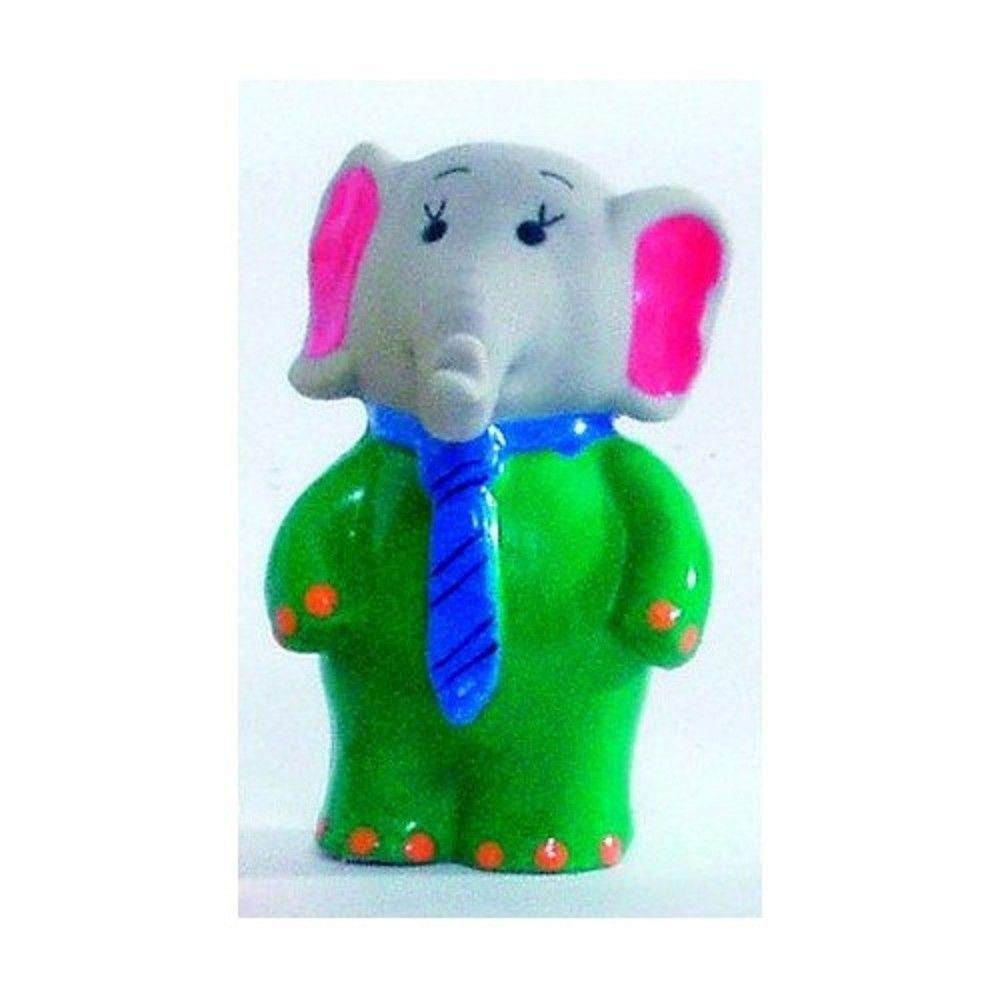 Latex - slon prodavač 9cm Ostatní
