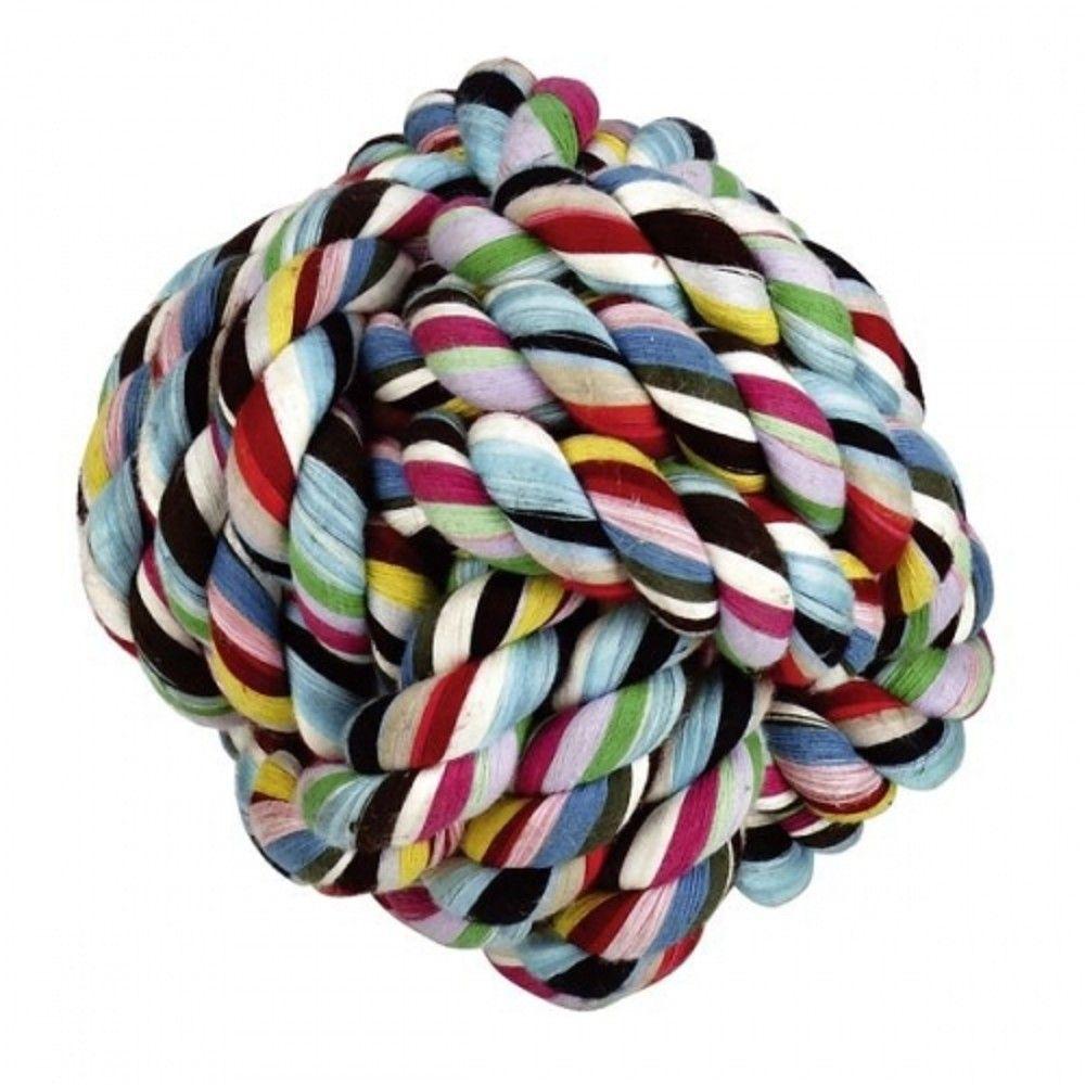 Míč bavlna 10,5cm aport barevný Ostatní