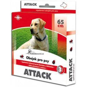 Attack oboj.antip.65cm pes-hnědý