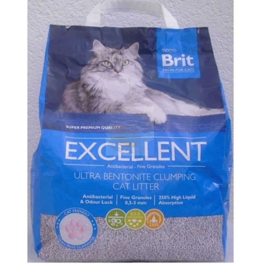 Stel.Brit 10kg fresh for cats excellent ultra bentonite Ostatní