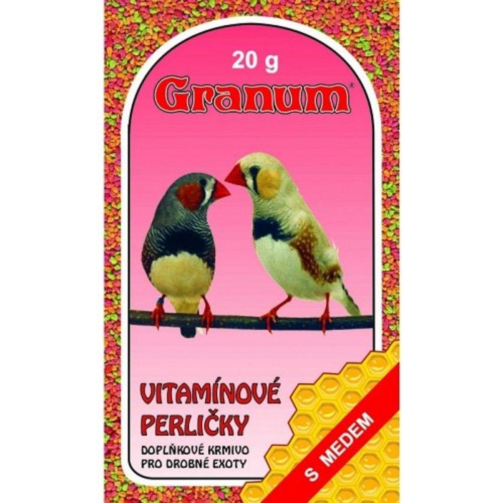 Vit.perle 20g exoti/Granum s medem Vitakraft