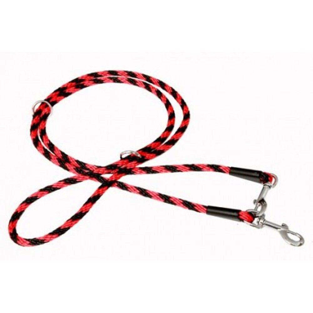 Vod.lano 1,4x240cm přep.uzlík-černé-červené Ostatní
