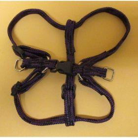 Postroj nylon č.1/1,0cm-fialovo-černý