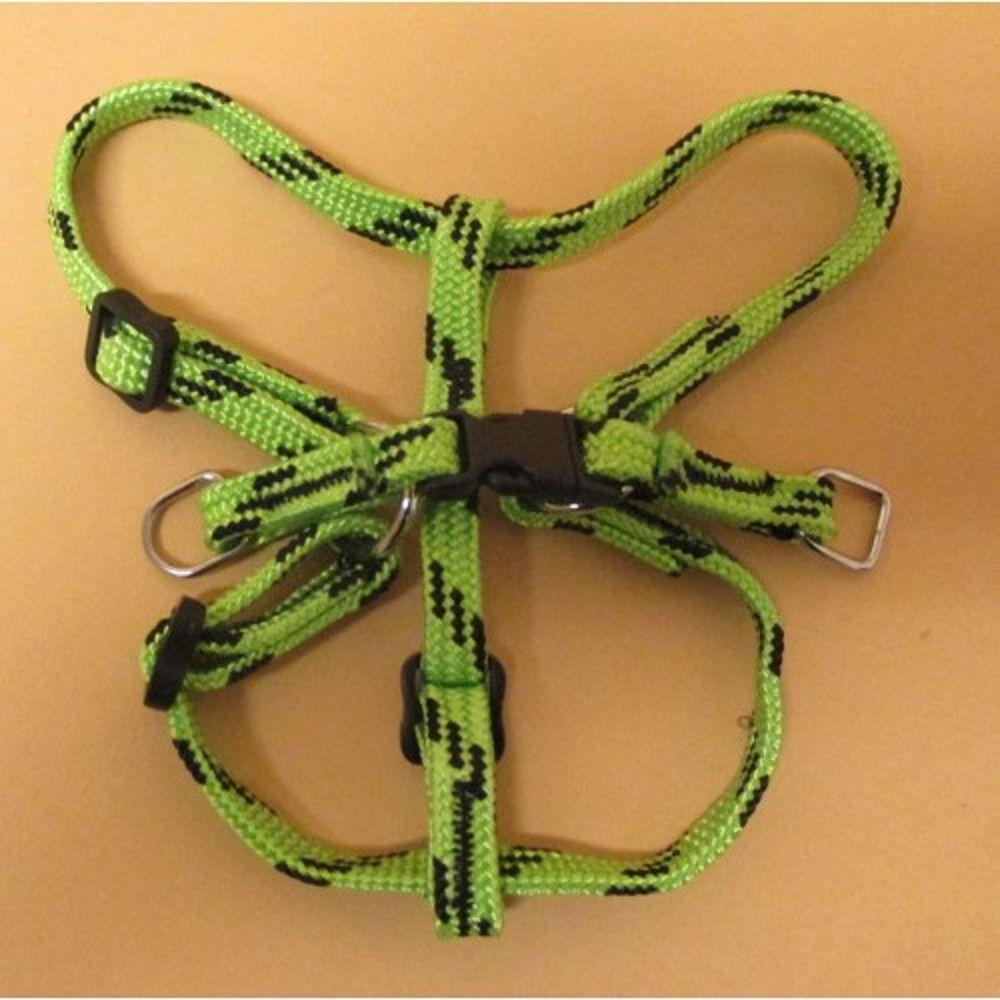 Postroj nylon č.1/1,0cm-zeleno-černý Ostatní