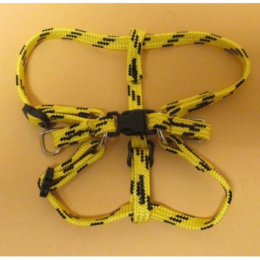 Postroj nylon č.1/1,0cm-žluto-černý Ostatní