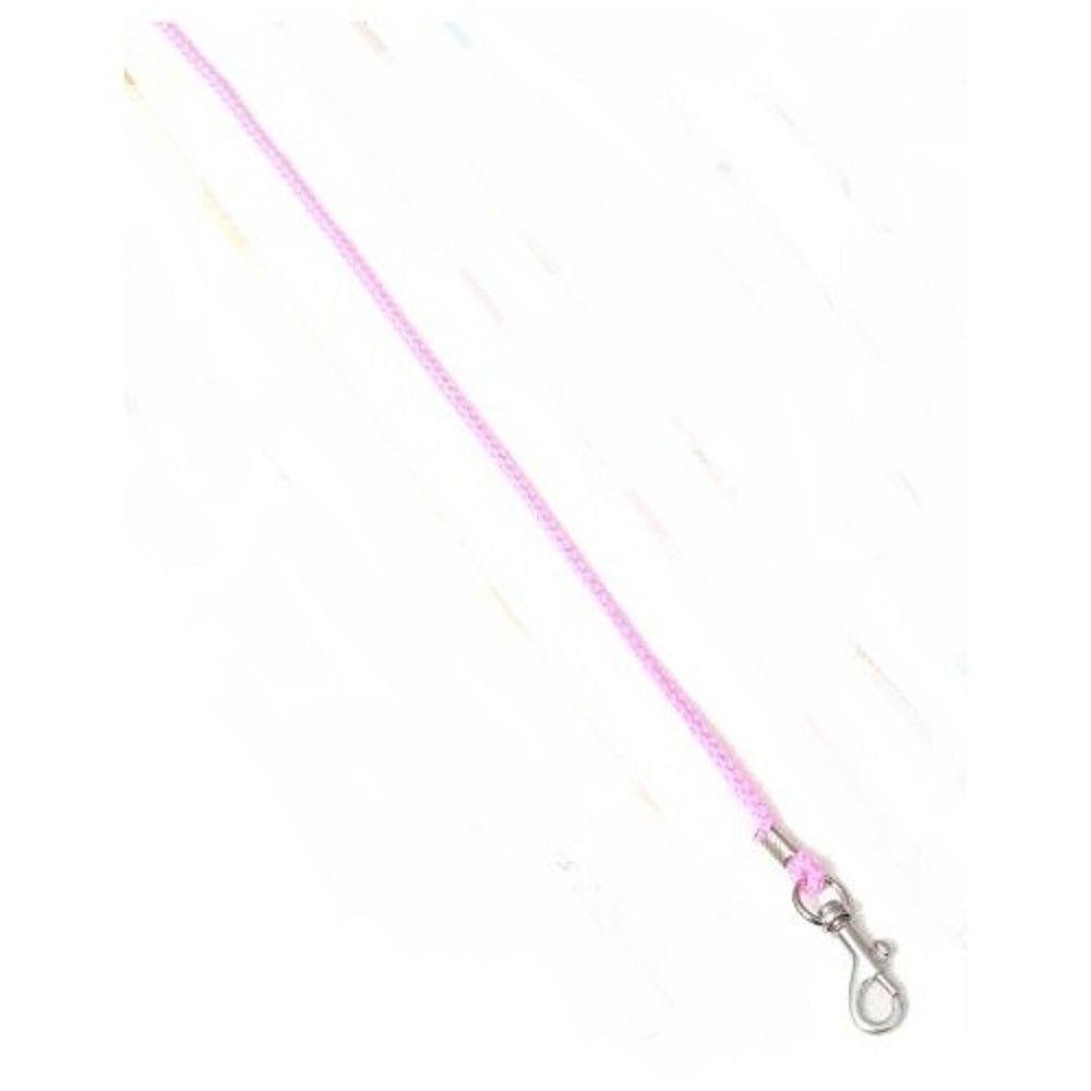 Vod.šňůra 0,3x130cm synt.lano-růžové Ostatní