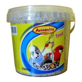 Písek pro ptáky 1,5kg s mušl.kbelík