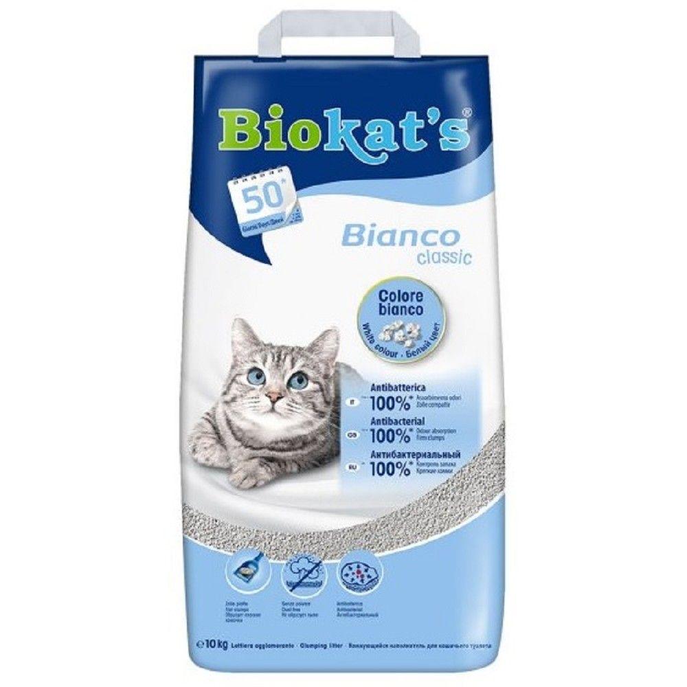Stel.Biokats 10kg bianco hygiene Ostatní