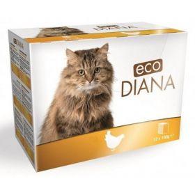 Eco Diana 100gx kaps.cat kuřecí kousky v omáčce
