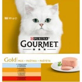 Gourmet konzerva 8x85g gold paštika