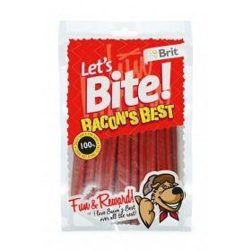 Brit Lets Bite Bacons best 105g slaninové kříž.tyčky/14ks