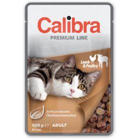 Calibra cat 100g kapsa premium adult lamb+poultry 100g