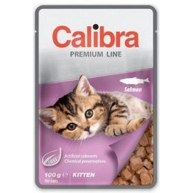 Calibra cat 100g kapsa premium kitten salmon