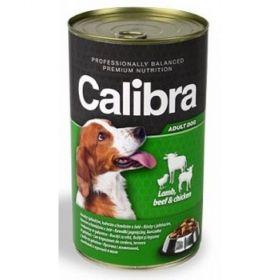 Calibra dog 1240g jehněčí+hovězí+kuřecí v želé