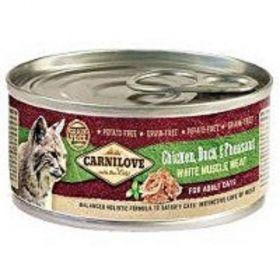 Carnilove 100g White meat Chicken +Duck+Pheasant cats konz.