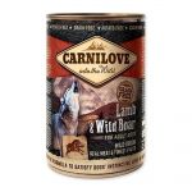 Carnilove 400g wild meat adult lamb+wild boar