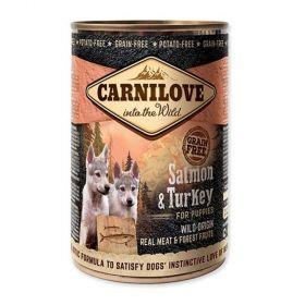 Carnilove 400g wild meat puppy salmon+turkey