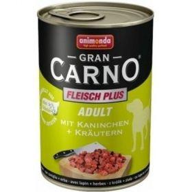 Gran Carno 400g adult hovězí+králík+bylinky