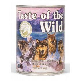 Taste of the wild 390g Wetlands Wild canine