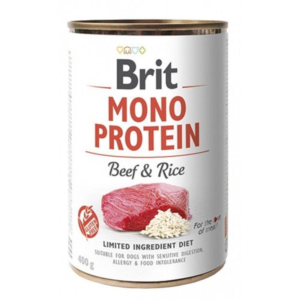 Brit Mono Protein 400g Beef Rice 94
