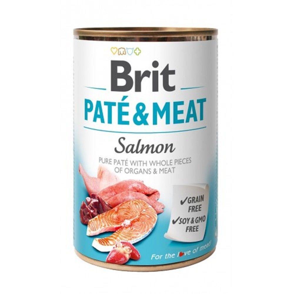 Brit Paté Meat 400g Salmon