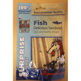 Huhu delicious rybí sandwich 75g 94