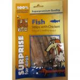 Huhu exc.rybí+kuřecí pásky 60g