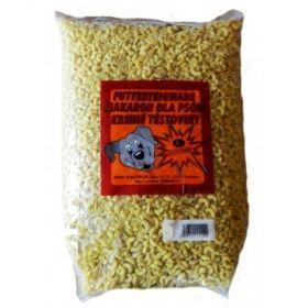 Těstoviny kolínka 5kg krmné žluté masová příchuť-šunka/Schusterová
