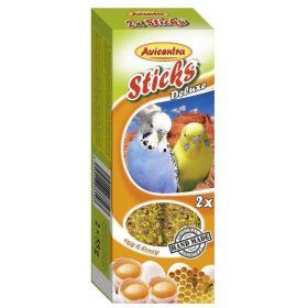 Avicentra tyč andulka vejce+med 2ks
