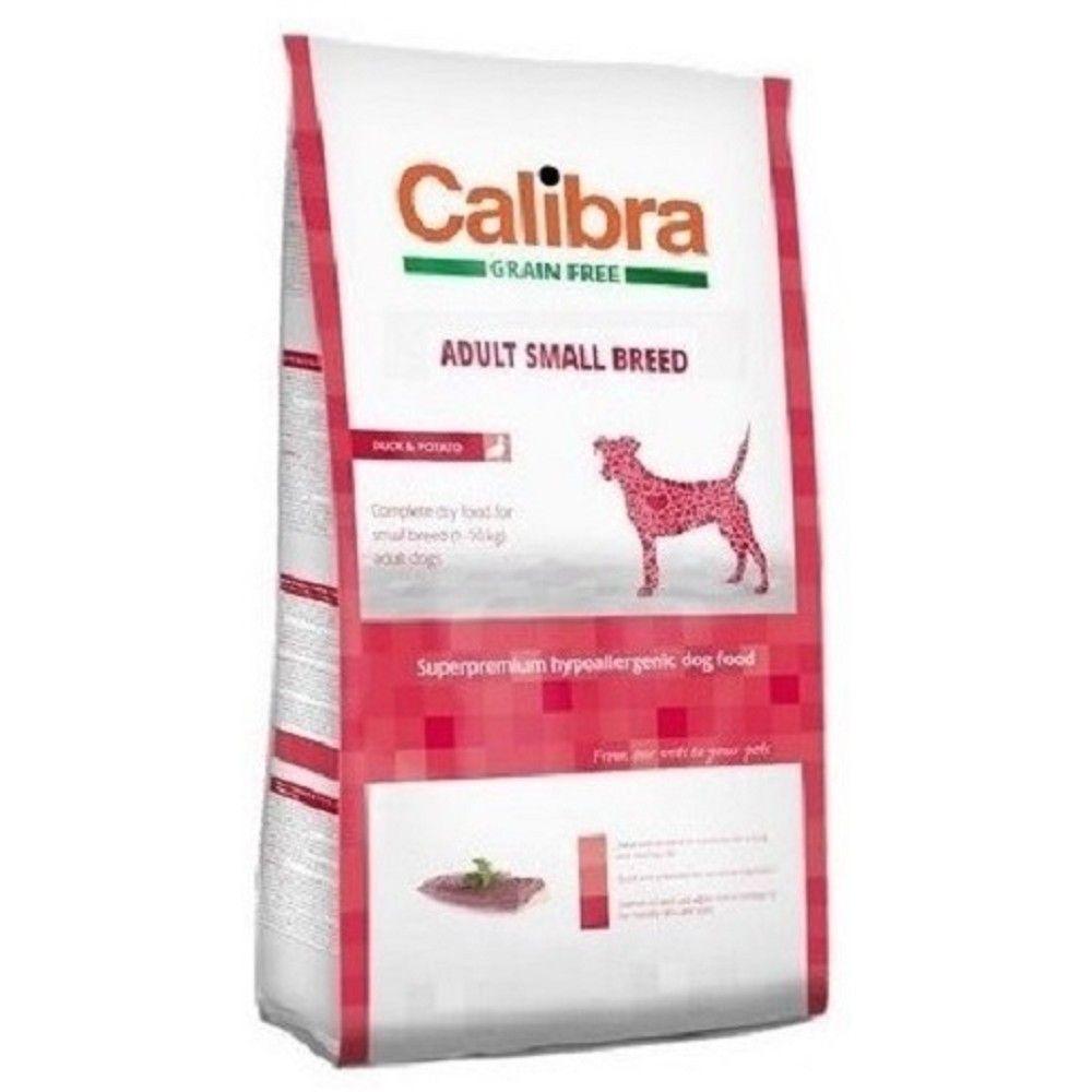 Calibra 7kg+2kg Adult SB grain free Duck Potato 94