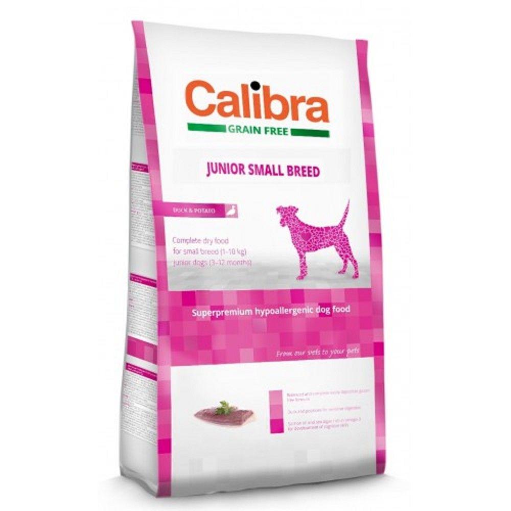 Calibra 7kg+2kg Junior SB grain free Duck