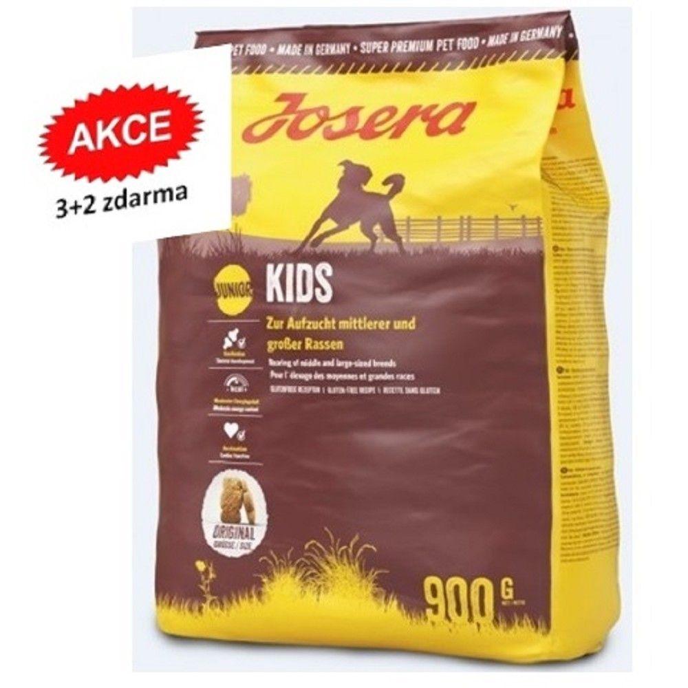 Josera 5x0,9kg Kids Junior 3+2 zdarma