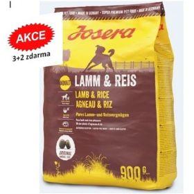 Josera 5x0,9kg Lamm/Reis Adult 3+2 zdarma