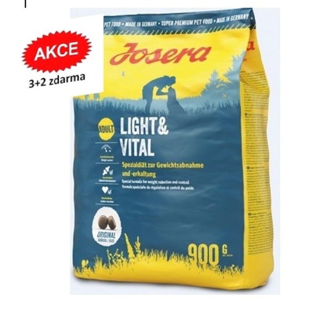 Josera 5x0,9kg Light+Vital 3+2 zdarma