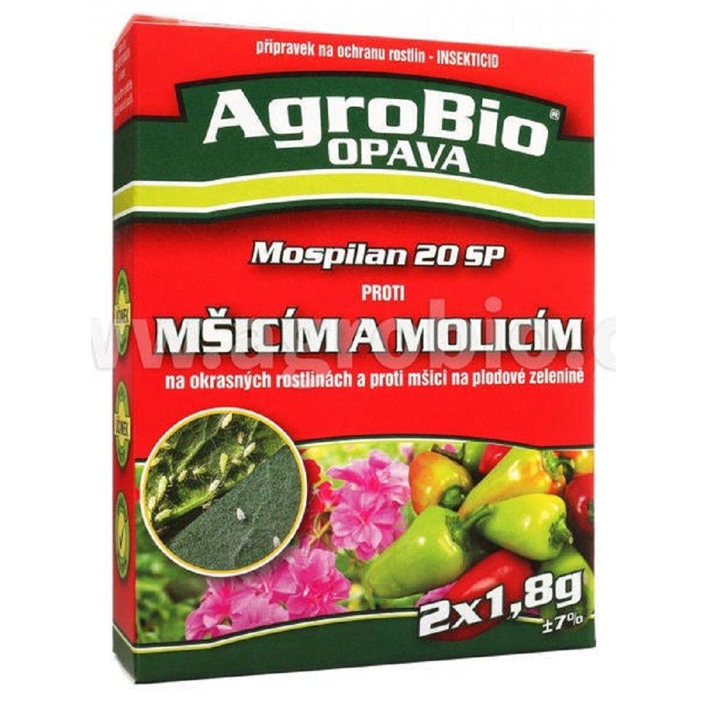 Mospilan 20 SP-2x1,8g,ochrana rostlin proti mšicím a molicím Ostatní