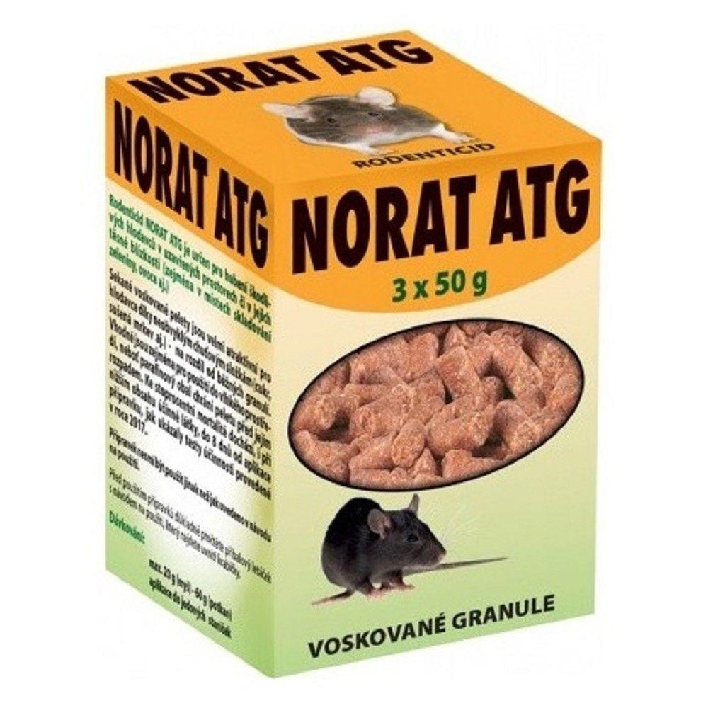 Norat ATG 150g voskované gran.na hlodavce Ostatní