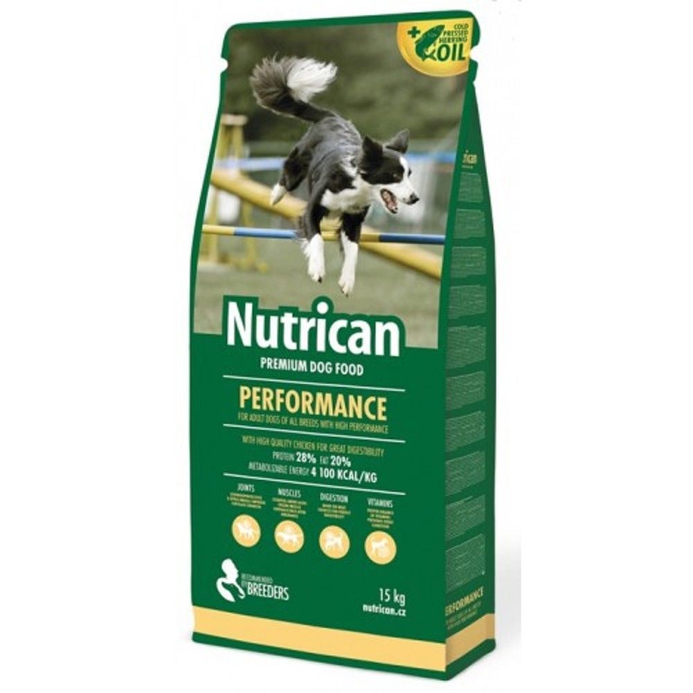 Nutrican 15+2kg Performance dog