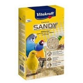 Písek Sandy 2kg pro malé papoušky