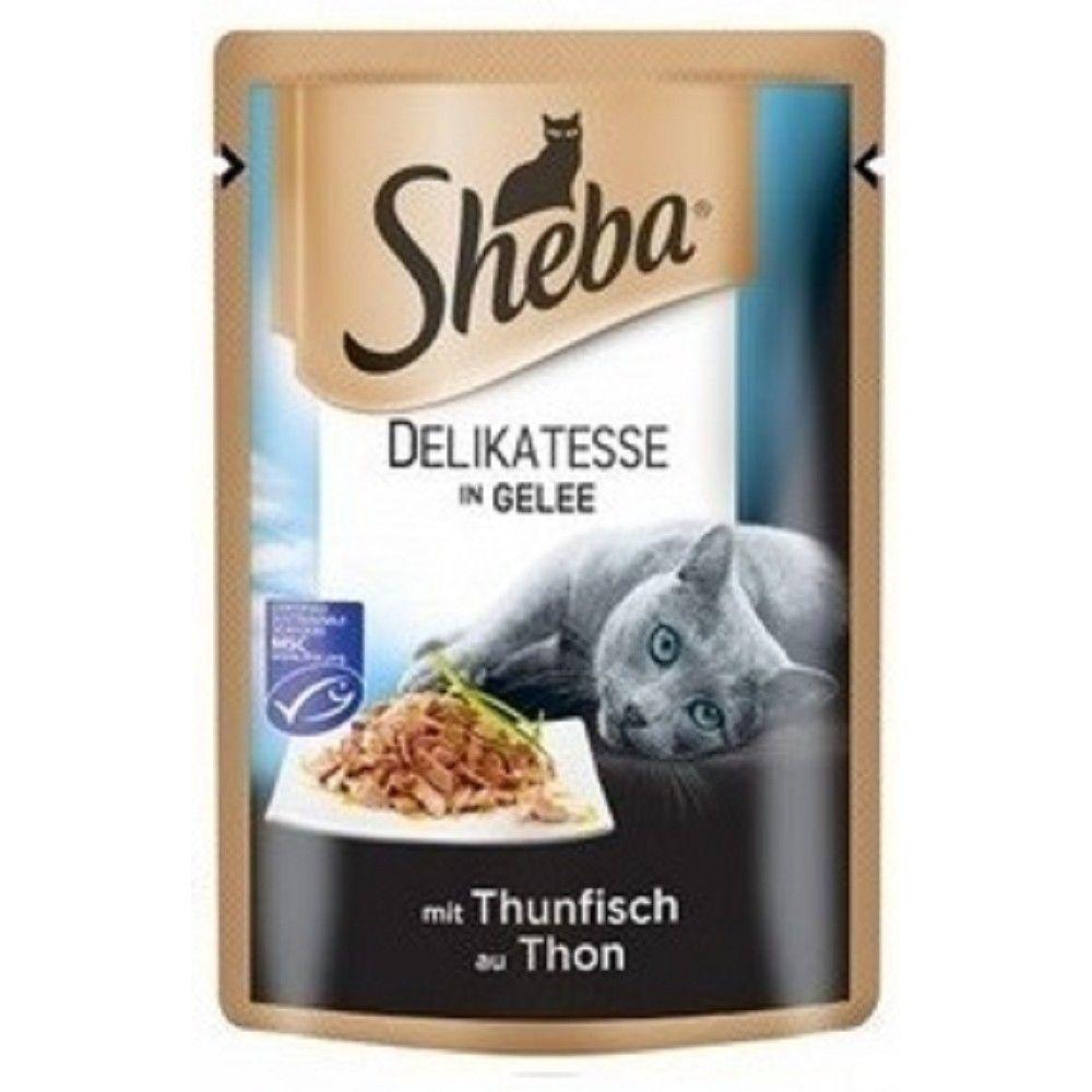 Sheba Delikatesse 85g tuňák v želé Ostatní