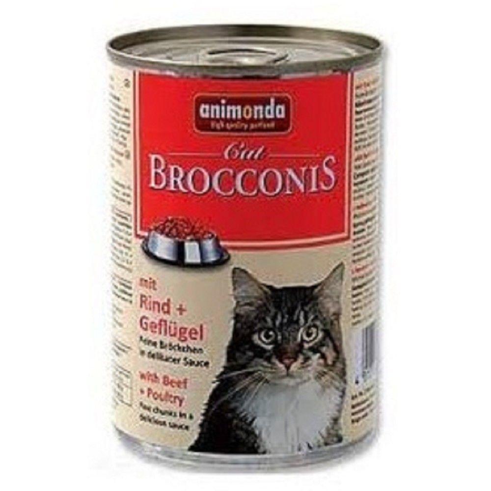 Animonda 400g Brocconis hovězí+drůbeží Ostatní