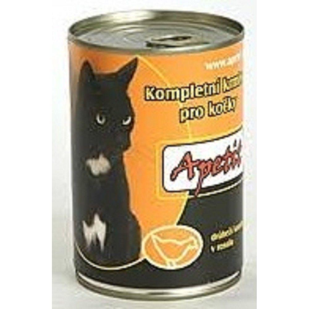 Apetit 410g drůbež cat 1ks