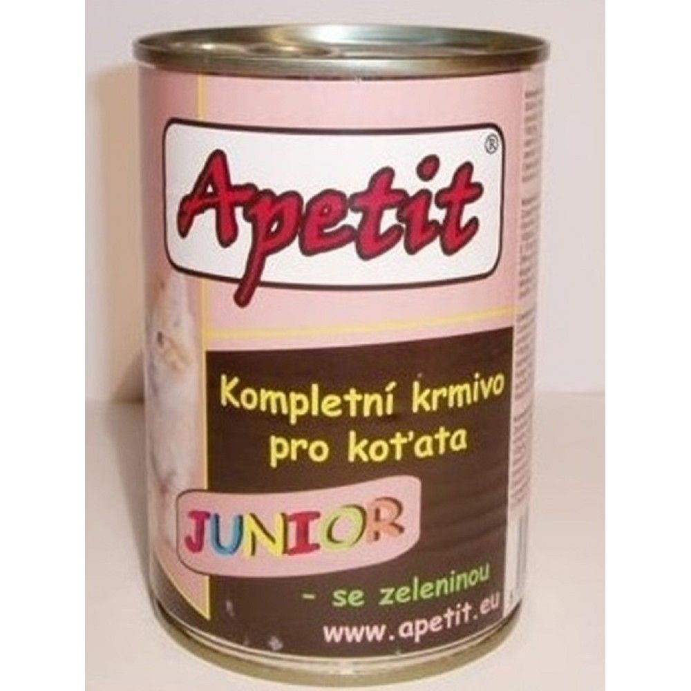 Apetit 410g junior cat 1ks