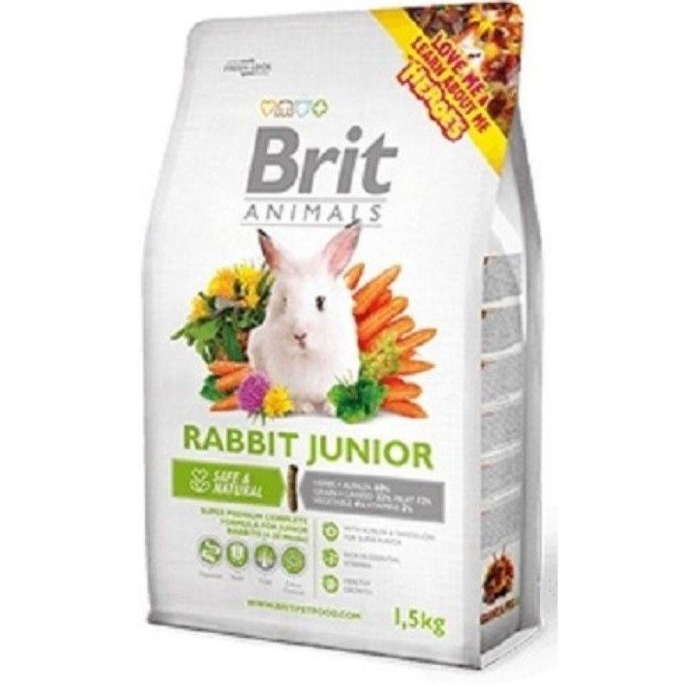 Brit animals 300g králík junior complete