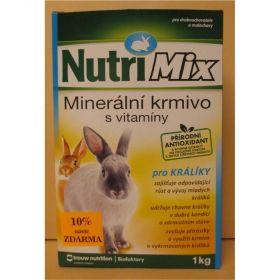 Nutri Mix 1kg králík + 10% zdarma/10ks