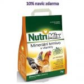 Nutri Mix 3kg nosnice + 10% zdarma