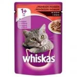 Whiskas 100g kaps.hovězí cat