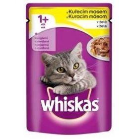 Whiskas 100g kaps.kuřecí v želé cat