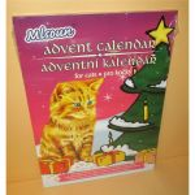 Adventní kalendář kočka